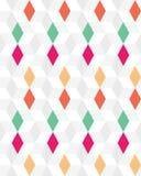 bezszwowy deseniowy rhombus Fotografia Royalty Free