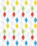 bezszwowy deseniowy rhombus Zdjęcia Stock