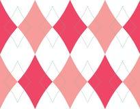 bezszwowy deseniowy tła rhombus Fotografia Royalty Free