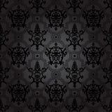 Bezszwowy deseniowy tło. Adamaszkowa tapeta. Zdjęcie Stock