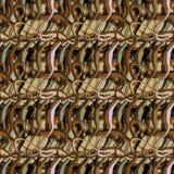 Bezszwowy deseniowy tło z barwić falistymi liniami zdjęcia royalty free