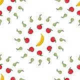 Bezszwowy deseniowy tła frut wektor Obrazy Stock