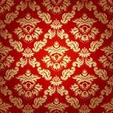 Bezszwowy deseniowy tło. Adamaszkowa tapeta. Zdjęcia Stock