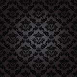 Bezszwowy deseniowy tło. Adamaszkowa tapeta. Fotografia Royalty Free