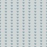 Bezszwowy deseniowy tła serce Zdjęcie Stock