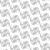 Bezszwowy deseniowy wizerunek łowi Wektorową ilustrację Obrazy Royalty Free
