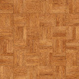 Bezszwowy drewniany parkietowy tekstura szachy jasnobrązowy Obrazy Royalty Free