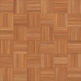 Bezszwowy drewniany parkietowy tekstura szachy jasnobrązowy Obraz Royalty Free