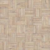 Bezszwowy drewniany parkietowy tekstura szachy neutralny Zdjęcia Royalty Free