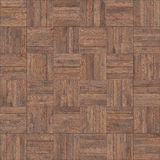 Bezszwowy drewniany parkietowy tekstura szachy neutralny Fotografia Stock