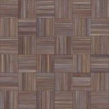 Bezszwowy drewniany parkietowy tekstura szachy neutralny Zdjęcie Stock