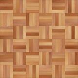 Bezszwowy drewniany parkietowy tekstura szachy różnorodny Fotografia Royalty Free