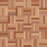 Bezszwowy drewniany parkietowy tekstura szachy różnorodny Fotografia Stock
