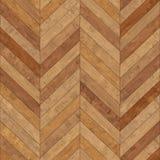 Bezszwowy drewniany parkietowy tekstura szewron jasnobrązowy Obrazy Royalty Free