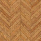 Bezszwowy drewniany parkietowy tekstura szewron jasnobrązowy Zdjęcia Royalty Free