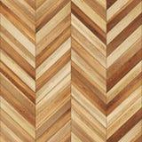 Bezszwowy drewniany parkietowy tekstura szewron jasnobrązowy Fotografia Royalty Free