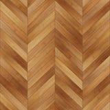 Bezszwowy drewniany parkietowy tekstura szewron jasnobrązowy Obrazy Stock