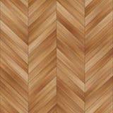 Bezszwowy drewniany parkietowy tekstura szewron jasnobrązowy Zdjęcia Stock