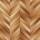 Bezszwowy drewniany parkietowy tekstura szewron jasnobrązowy Fotografia Stock
