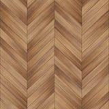 Bezszwowy drewniany parkietowy tekstura szewron jasnobrązowy Zdjęcie Stock