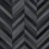 Bezszwowy drewniany parkietowy tekstura szewronu zmrok Zdjęcia Stock
