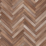 Bezszwowy drewniany parkietowy tekstury herringbone brąz Fotografia Royalty Free