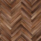 Bezszwowy drewniany parkietowy tekstury herringbone brąz Zdjęcie Royalty Free