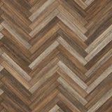 Bezszwowy drewniany parkietowy tekstury herringbone brąz Obrazy Royalty Free
