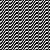Bezszwowy falisty linia wzór Obraz Royalty Free