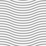 Bezszwowy Falisty linia wzoru tło Wektorowa ilustracja EPS10 ilustracja wektor