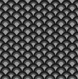 Bezszwowy falowego wzoru tło Obrazy Royalty Free