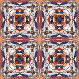Bezszwowy fantastyczny ornamentacyjny wzór Fotografia Royalty Free