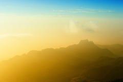 Bezszwowy góra krajobraz Fotografia Stock