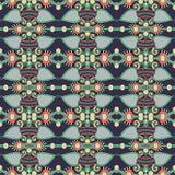 Bezszwowy geometria rocznika wzór, etniczny styl Obraz Royalty Free