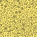 Bezszwowy geometryczny Fotografia Royalty Free