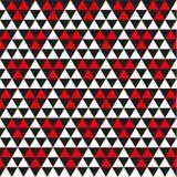 Bezszwowy geometryczny abstrakcjonistyczny trójboka wzoru tekstury tło ilustracja wektor