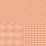 Bezszwowy geometryczny deseniowy tło Obraz Royalty Free