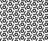 Bezszwowy geometryczny deseniowy wektorowy tło projekt Obrazy Stock