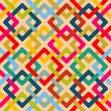 Bezszwowy geometryczny kwadrata wzór Obraz Stock