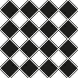 Bezszwowy geometryczny kwadrata wzoru tło royalty ilustracja