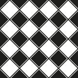Bezszwowy geometryczny kwadrata wzoru tło ilustracji