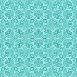 Bezszwowy geometryczny okręgu wzór Zdjęcia Stock