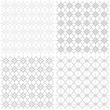 Bezszwowy geometryczny openwork wzór - ilustracja Obraz Stock