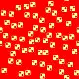 Bezszwowy geometryczny tło sześciany Zdjęcia Stock