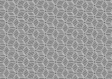 Bezszwowy Geometryczny wzór w sztuka projekcie royalty ilustracja
