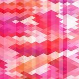 Bezszwowy geometryczny wzór Obrazy Stock