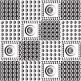 Bezszwowy geometryczny wzór Ilustracja Wektor