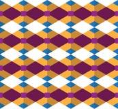 Bezszwowy geometryczny wzór; geometryczny wektor projektujący Zdjęcie Stock