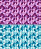 Bezszwowy geometryczny wzór robić od rhombuses Obraz Stock