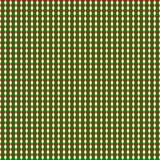 Bezszwowy geometryczny wzór zieleni i czerwoni trójboki na przejrzystym białym tle Wektorowa ilustracja, eps 10 ilustracji